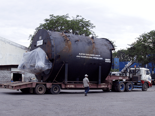 Overgage cargo (Boilers)
